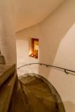Superbe escalier en colimaçon